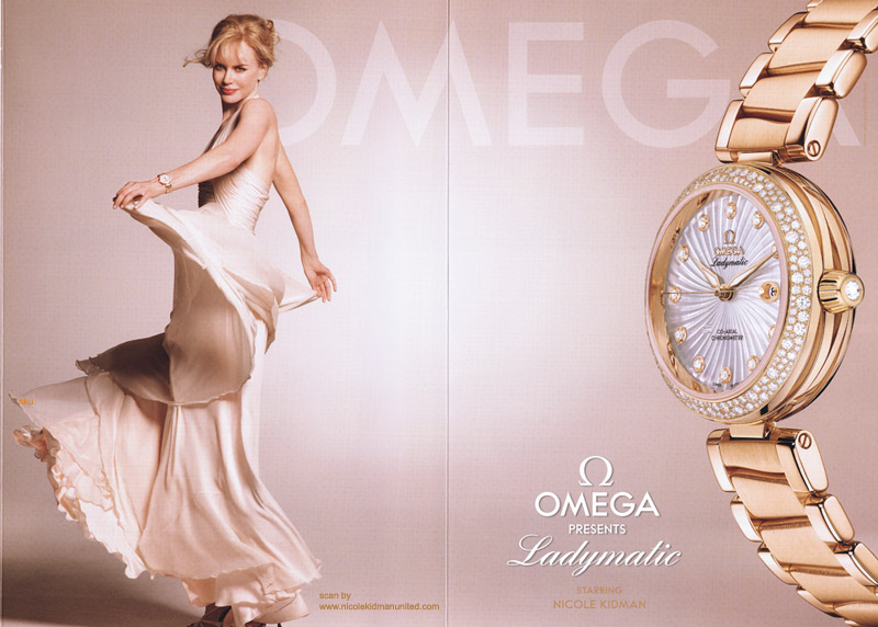 Omega-De-Ville-Ladymatic-with-Nicol-Kidman