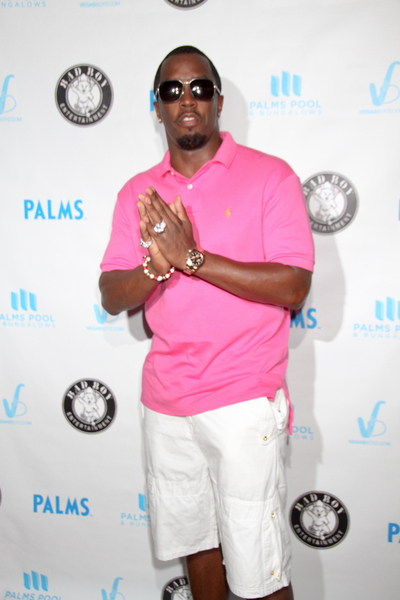 """Sean """"P. Diddy"""" Combs Hosts a Pool Party at Palms Pool & Bungalows in Las Vegas on September 4, 2011"""