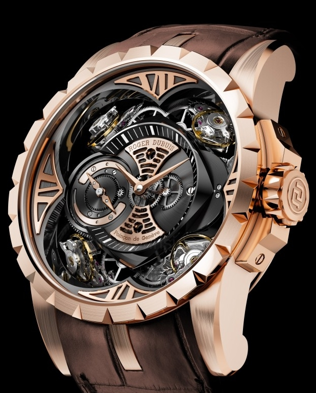 Roger dubuis excalibur quatuor saat - Knights of the round table watch price ...