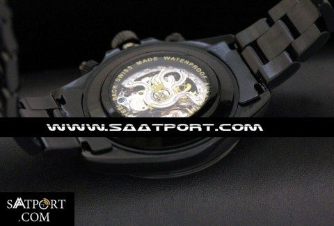 Rolex Daytona Skeleton All Black Automatic