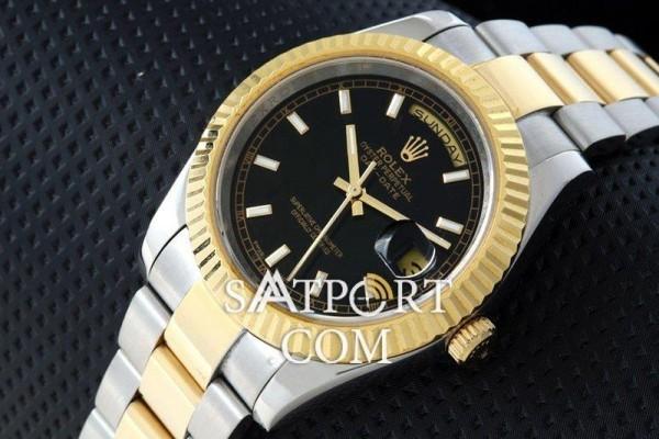 rolex-daydate-two-tone-siyah-kadran-112581