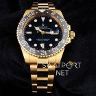 rolex-gmt-gold-black-dial-4699