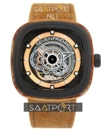 SevenFriday P2B/03-W 'Woody' Limited Edition Watch