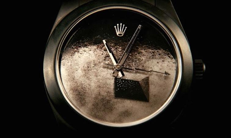 Baselde birgün Rolex saatlerimle
