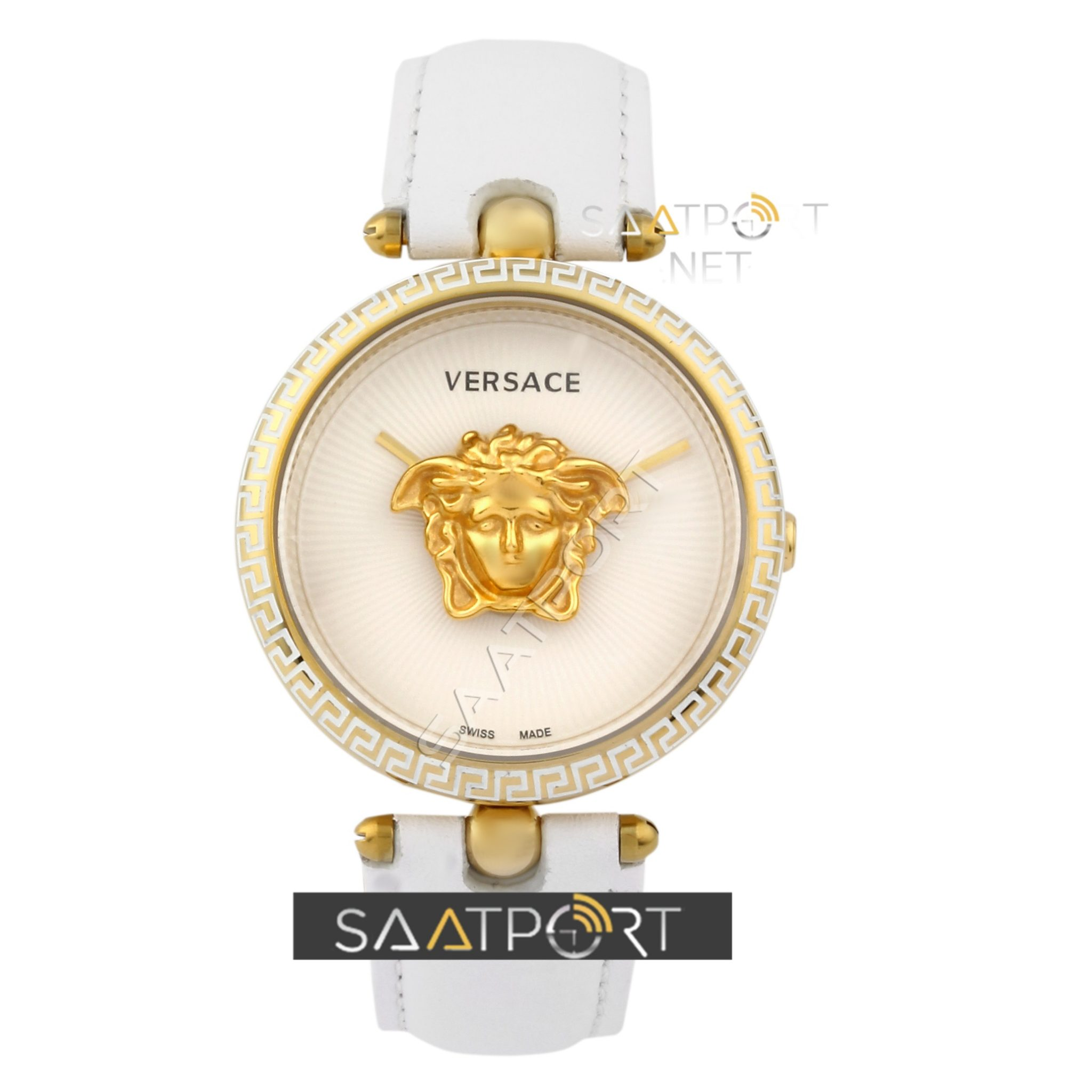 VERSACE WHİTE PALAZZO EMPIRE WATCH