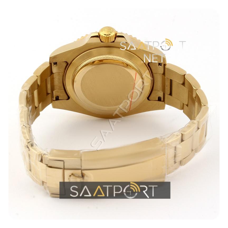 Rolex GMT Gold Case Black Dial