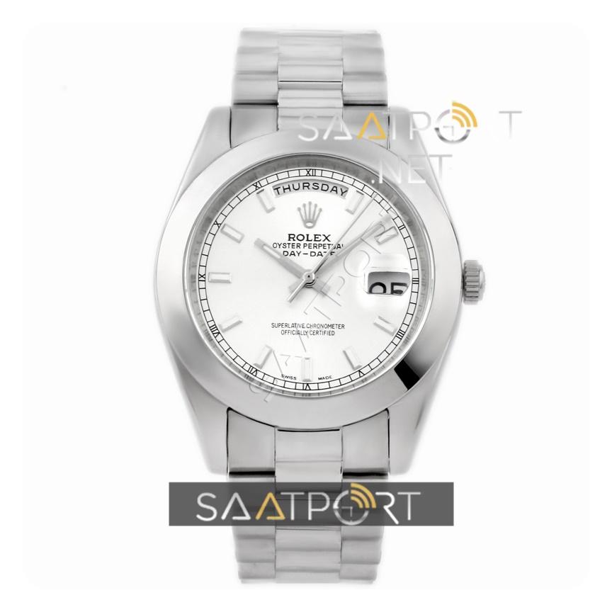 Rolex Day Date Düz Bezel