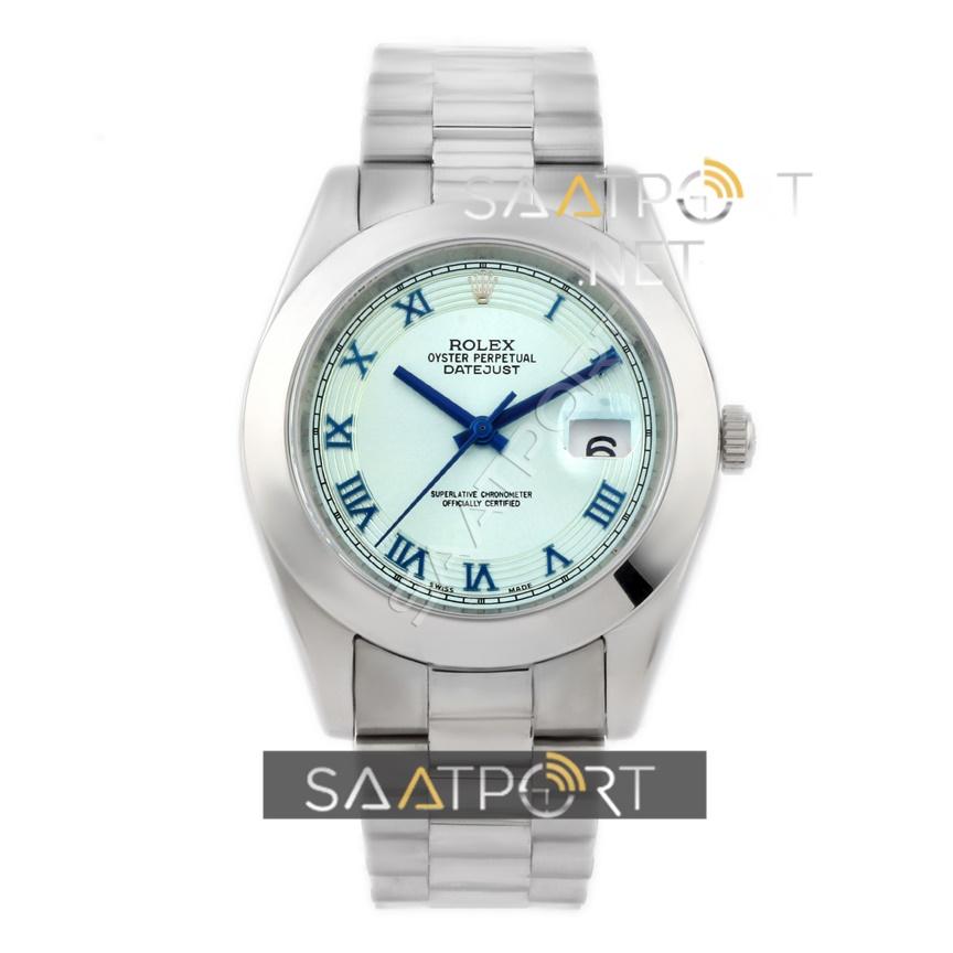 Rolex Datejust Mavi Kadran