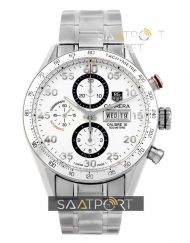 TAG Heuer Carrera Calibre 16 Silver Automatic Chronograph 41mm