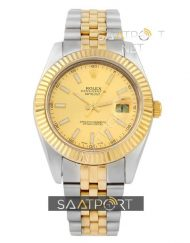 Rolex Datejust Two Tone Gold Dial Jübile