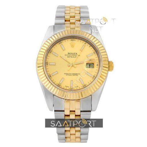 Rolex Datejust Two Tone Gold Dial Jübile