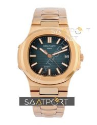 Patek Philippe Nautilus Rose Gold Blue Dial