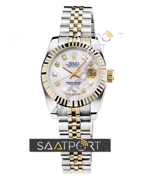 Rolex Jübile Kordonlu Bayan Saati