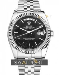 Rolex Day-Date Silver Mavi Kadran İndex 40 mm