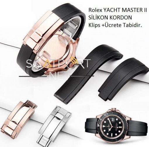 Rrolex Yacht Master Silikon Kordon
