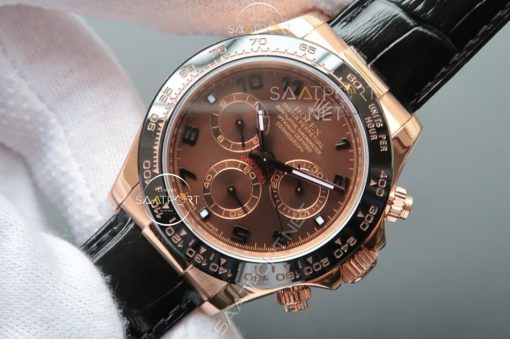 Rolex Daytona Brown Dial 18k Rose Gold 116515LN