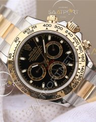 Rolex daytona two tone 116623 black Replica