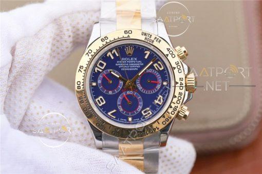 Rolex Daytona Cosmograph 116523 Blue Dial Eta Saat