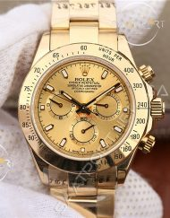 ROLEX Cosmograph Daytona Gold Dial 18K