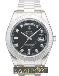 Replika Rolex Day Date Black Diamonds
