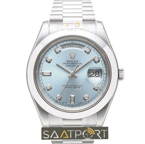 Rolex Day Date II Platinum Glacier 3255 Eta Mekanizma