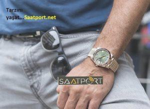 Rolex day date 40 everose altın saat