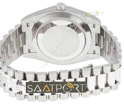 rolex-day-date-40-white-gold-silver-stripe-eta mekanizma 3255