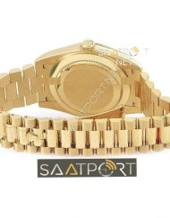 Rolex Day Date 40 mm Gold Case Eta Mekanizma 3255 Saat