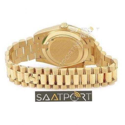 Rolex Day Date 40 mm Gold Case Eta Mekanizma 3255 Saat