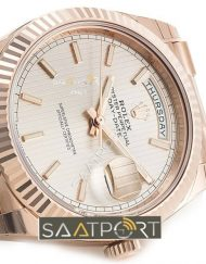 Rolex Day-Date Replika Rose Gold Eta 3255 Mekanizma