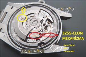 rolex eta 3255 mekanizma