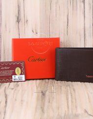 Cartier Erkek Cüzdan Gerçek Deri Siyah renk