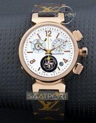 Louis Vuitton Bayan Saat Gold Kasa beyaz kadran