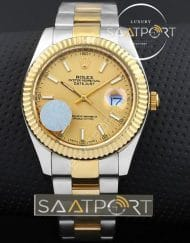 Rolex Datejust Gold Dial 41 mm otomatik