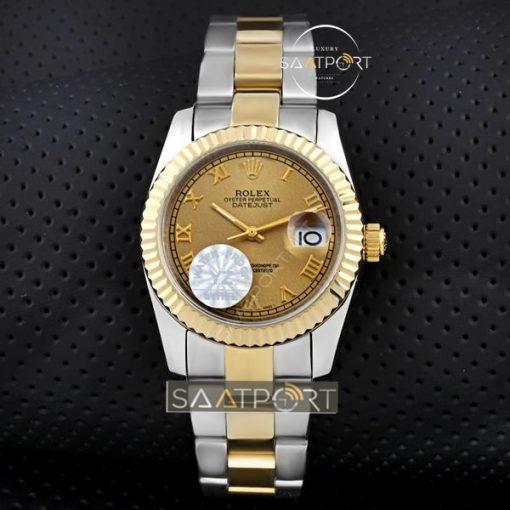 Rolex datejust replika saat