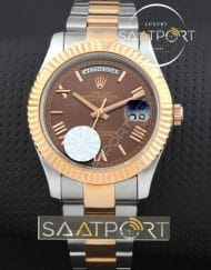 Rolex day date brown price fiyatlar replika saat