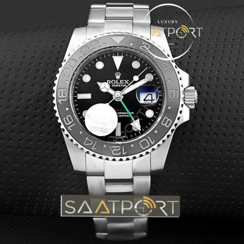 replika Rolex Gmt Master II Black