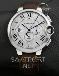 Cartier ballon bleu chronograph XL 45mm blue