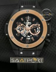 Hublot Replika Saat Unico King Gold 42 mm İmitasyon