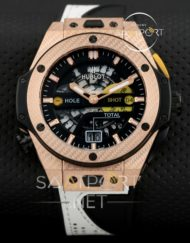 Hublot Big Bang Replika Saat Unico Golf 45 mm gold kasa
