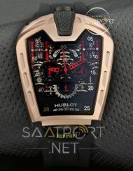 Hublot La Ferrari Cronometreli Gold Model siyah kadran