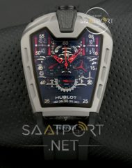 Hublot La Ferrari Cronometreli Gri kasa silikon kordon