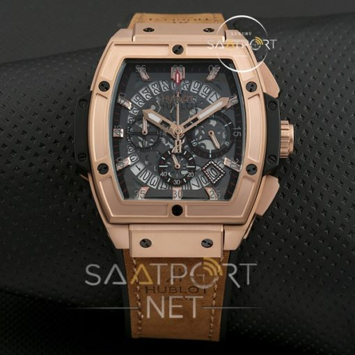 Replika Saat Hublot MP-06 Senna Rose Gold