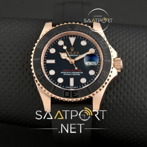 Replika Saat Rolex Yacht Master Silikon Kordon