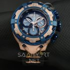Reserve Bolt Chronograph rose silikon kordon replika