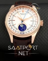 Rolex Dünyalı Cellini Moonphase Modeli replika saat