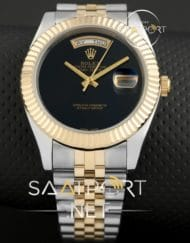 Rolex Day Date Vartolu Saati Two tone replika saat