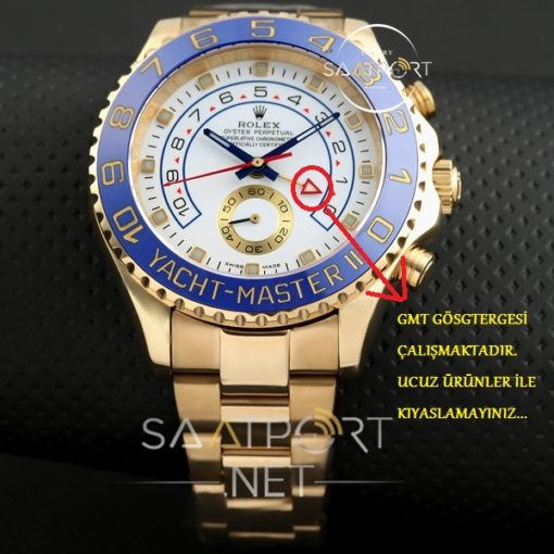 Rolex Yacht-Master II GMT Two Tone Otomatik Saat