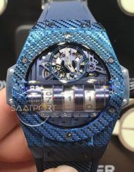 Hublot MP-11 Big Bang Mp11 Mavi Kasa Otomatik saatler