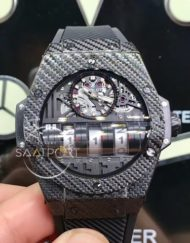 Hublot mp-11 big bang mp11 siyah kasa otomatik hublot saat